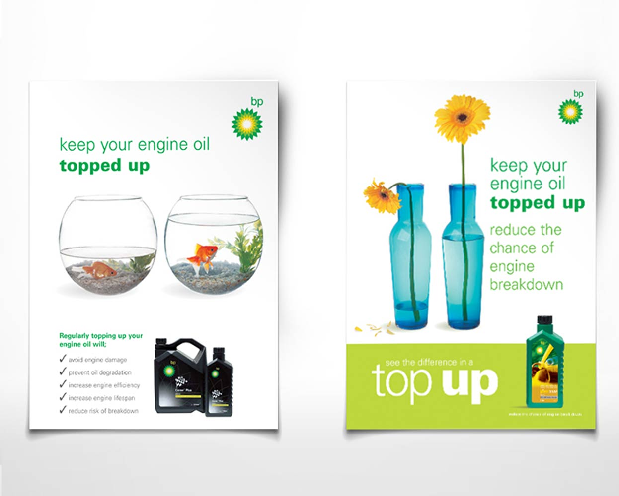 BP Packaging Campaign Poster