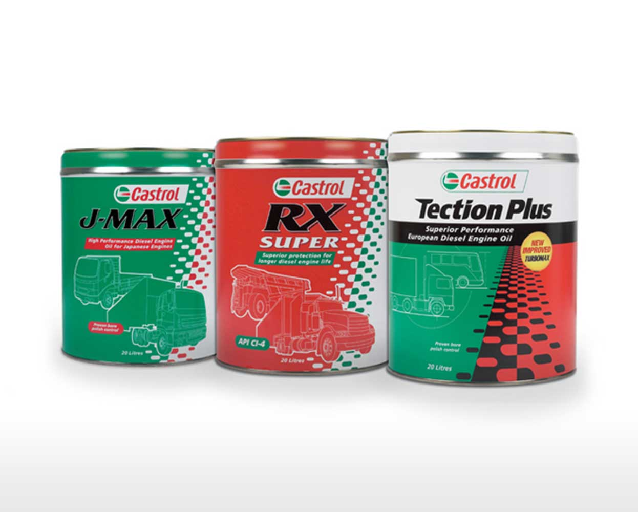 Castrol packaging 20L drum