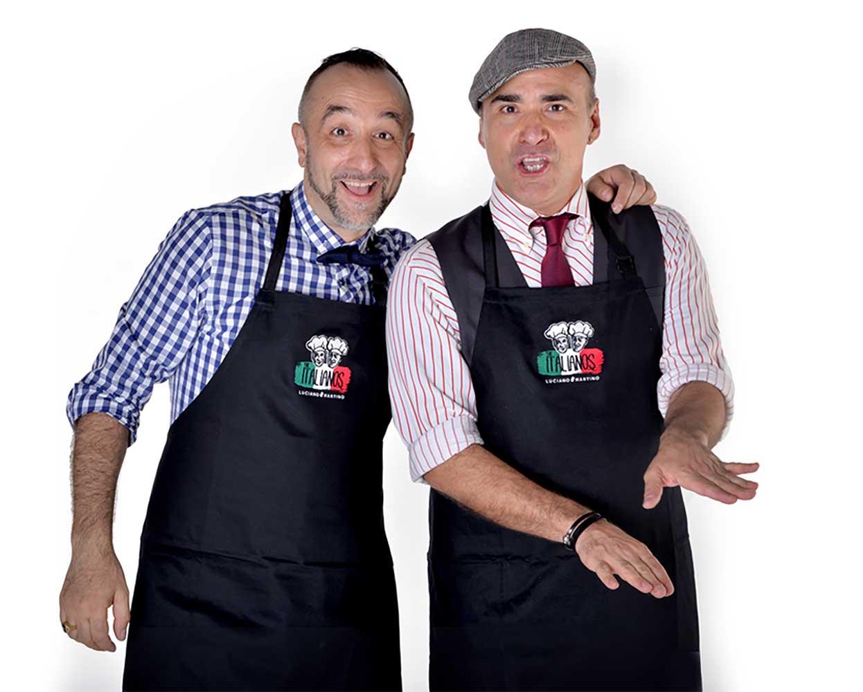 The Italianos branding -apparel