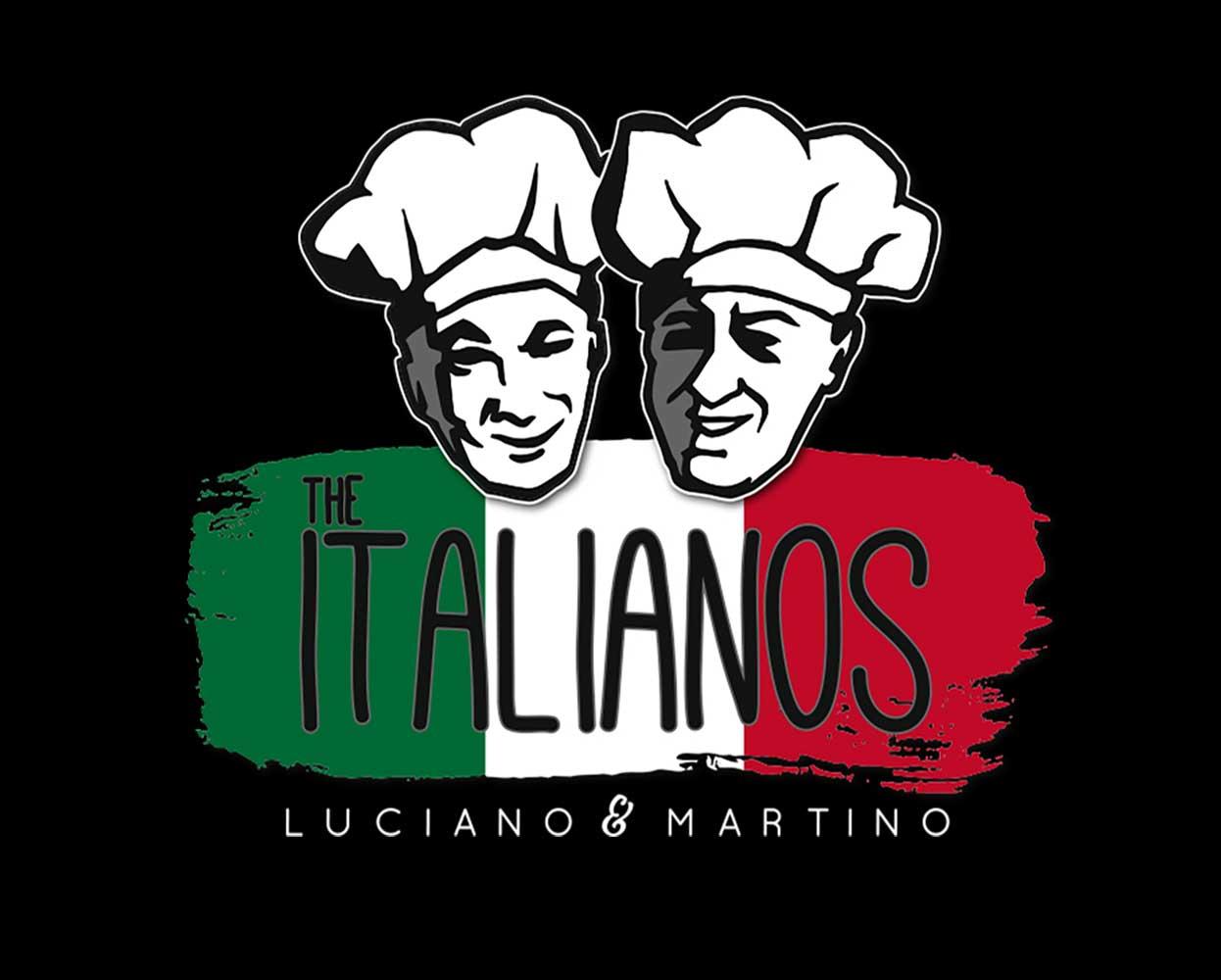 The Italianos branding - logo