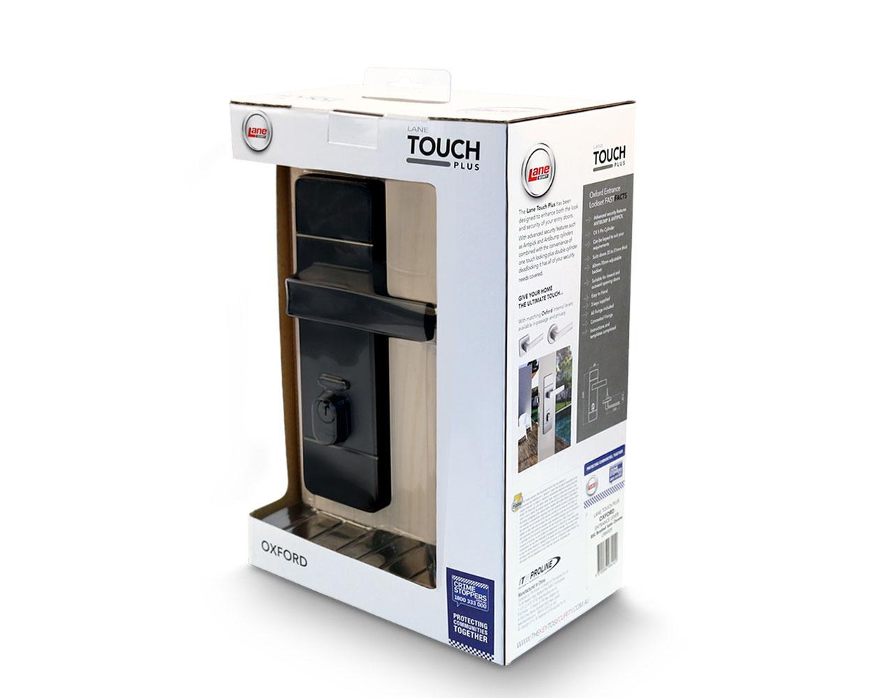Lane touchplus branding - packaging