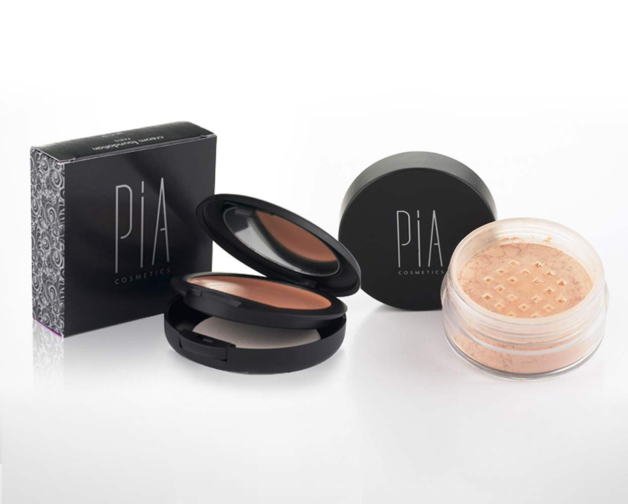 Pia Cosmetics Packaging