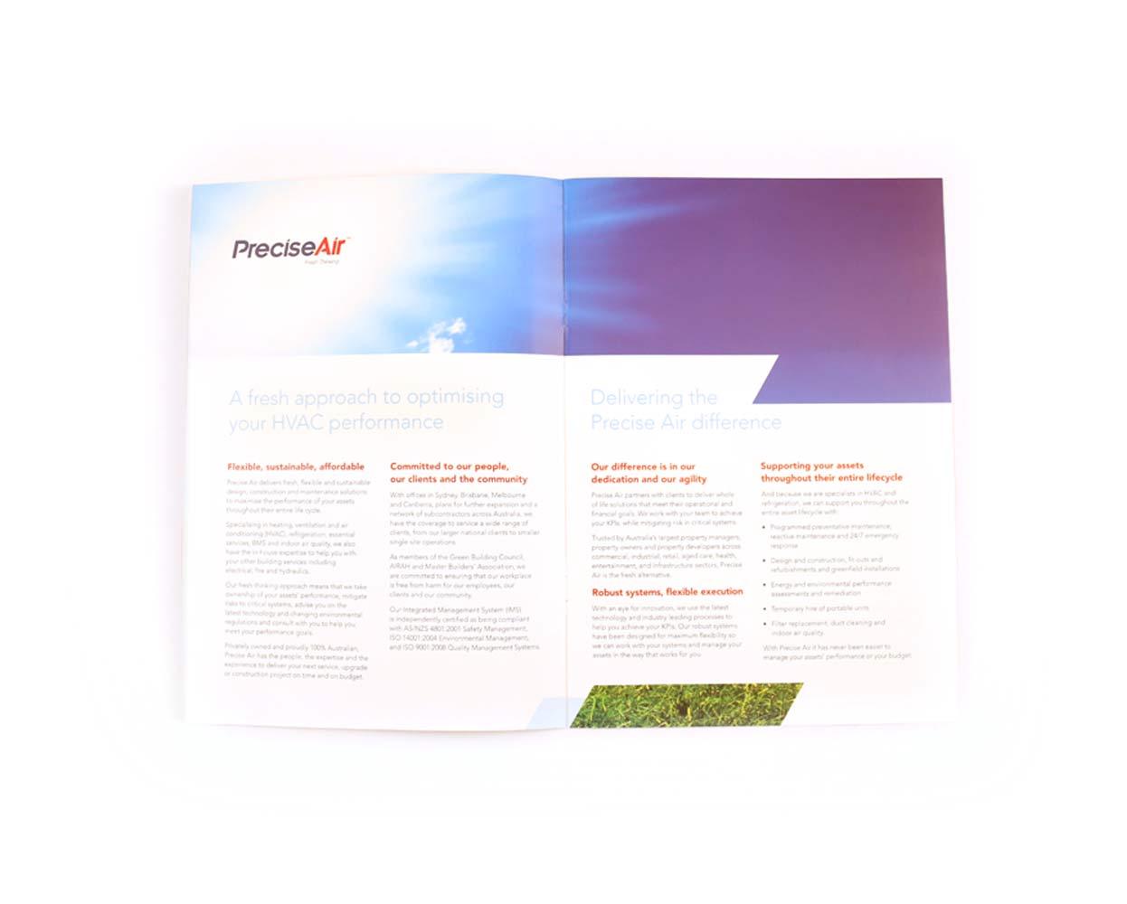 Precise Air Branding Brochure