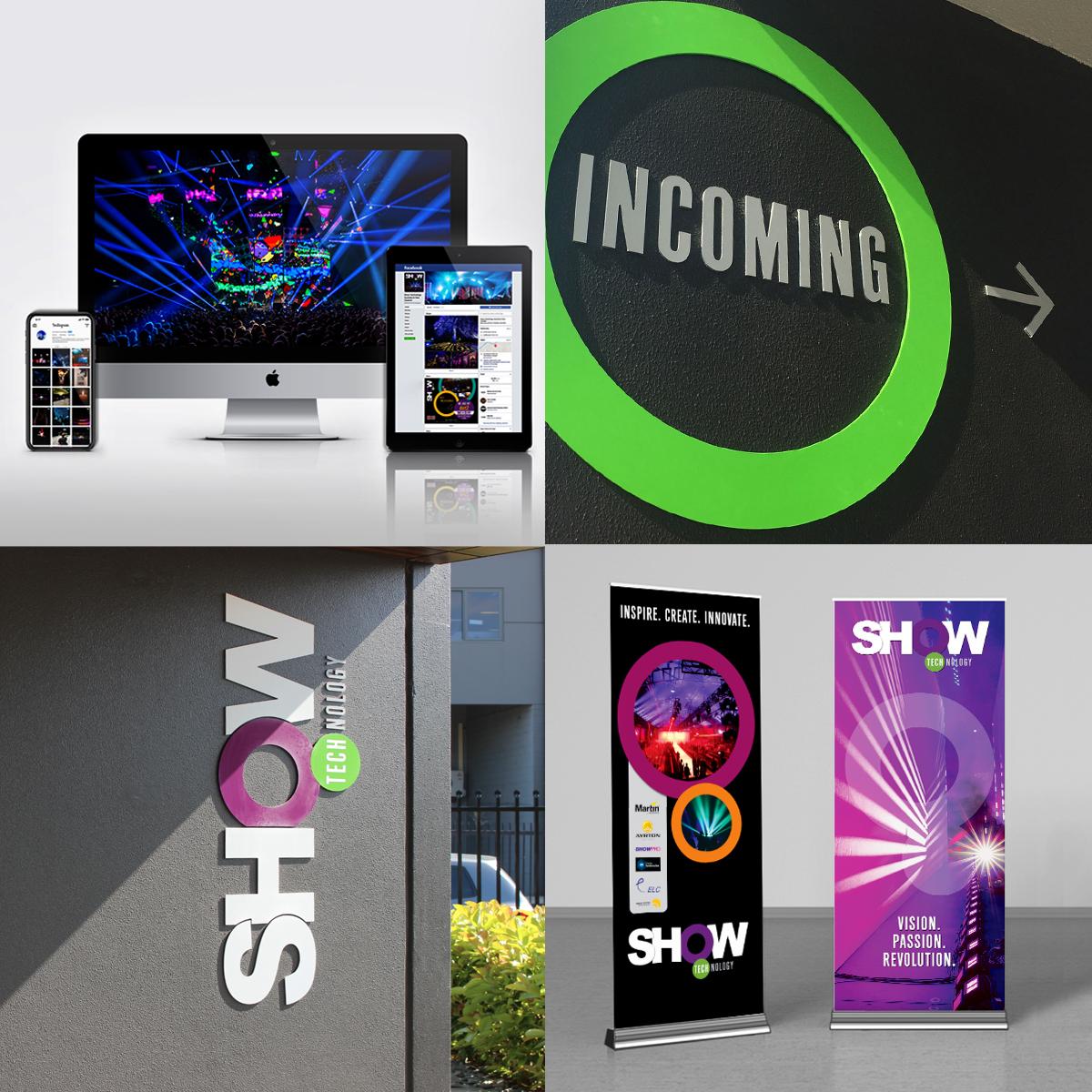 Mela-Creative Show Technology Branding Assets