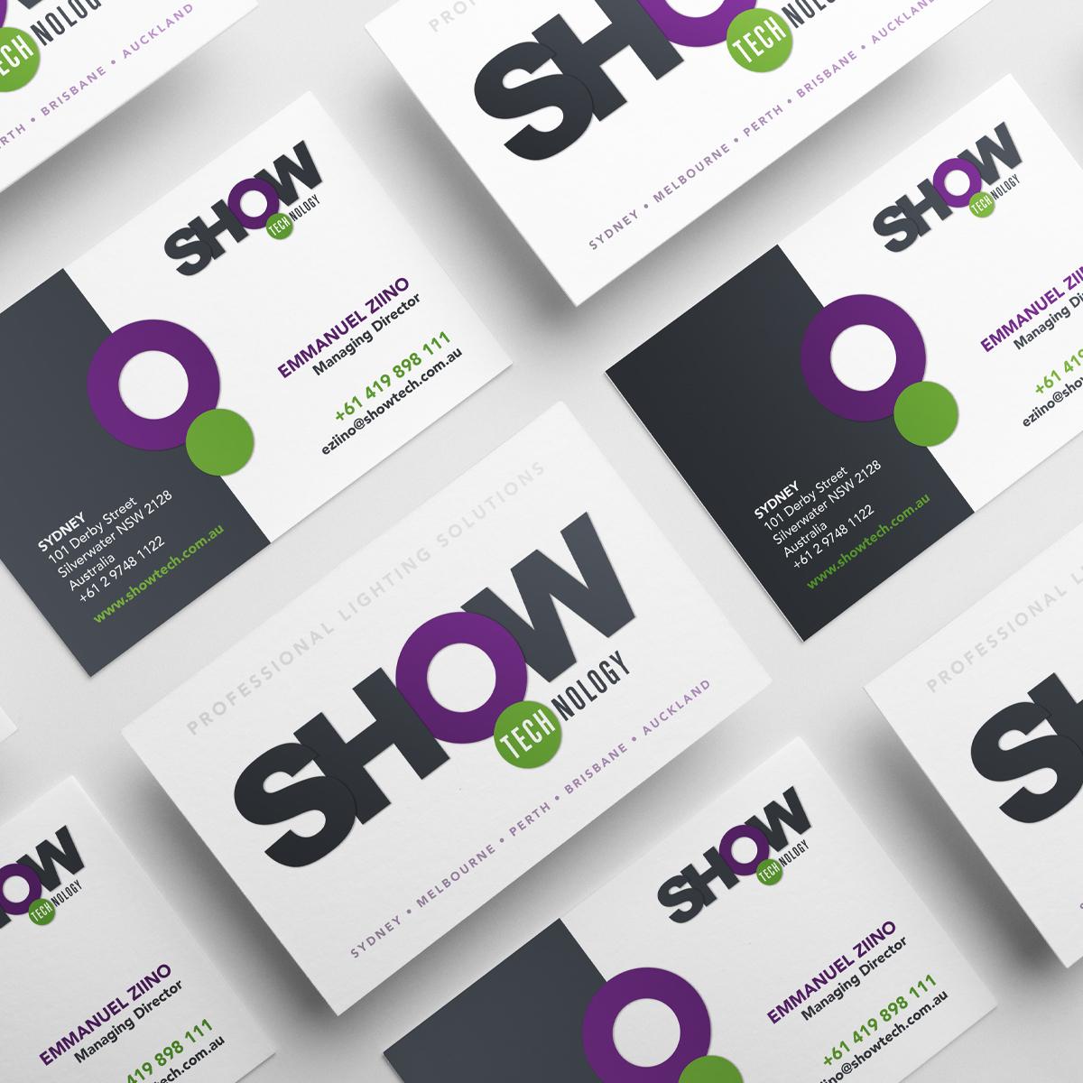 Mela-Creative-Show Technology-Branding-Business Card