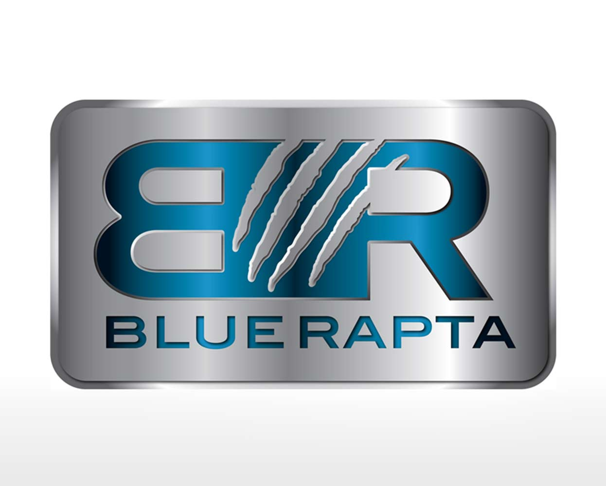 Blue Rapta Packaging Logo