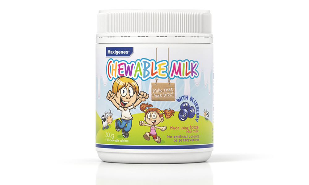 Maxigenes for kids on-the-go