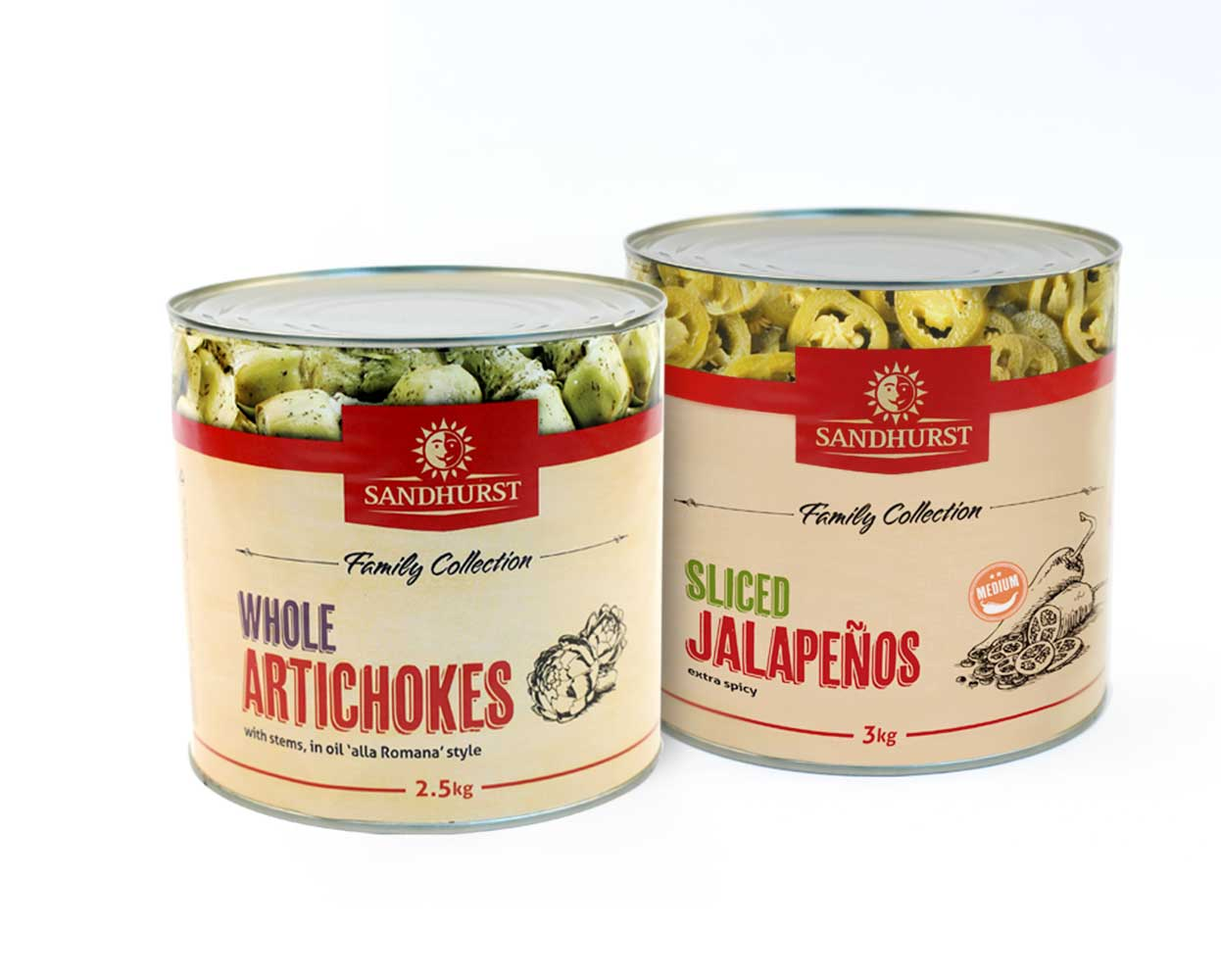 Sandhurst_packaging_tin_artichokes_jalapenos