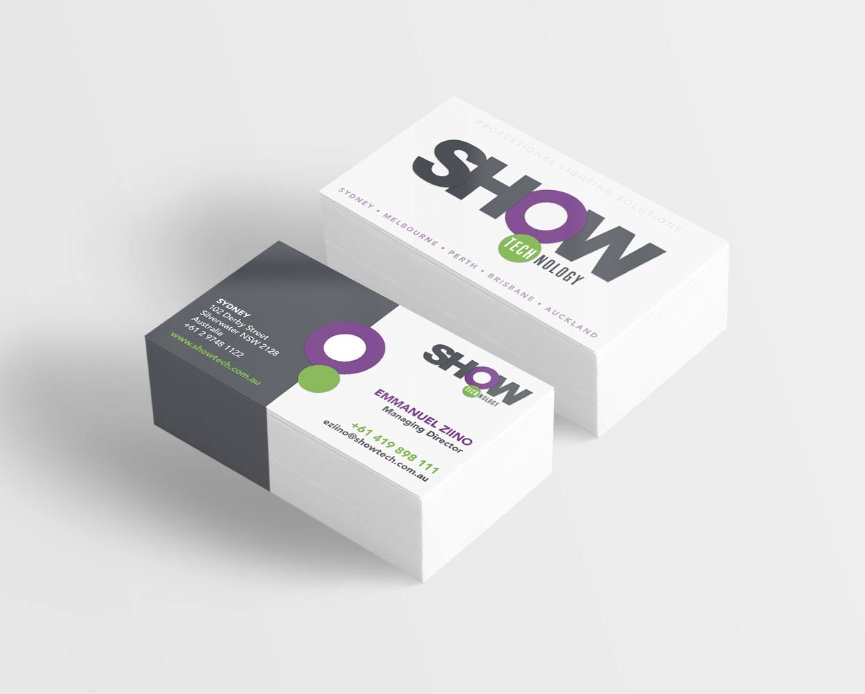 Show_Technology_branding_Business_cards