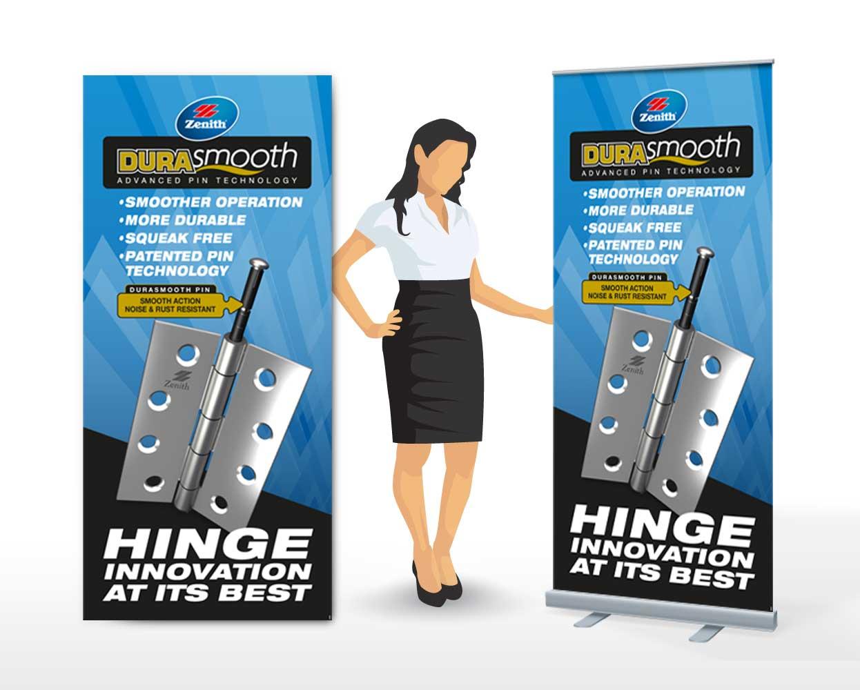 Zenith Durasmooth Packaging Pullup