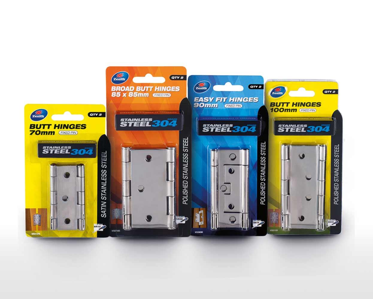 Zenith Durasmooth Packaging hinge packs