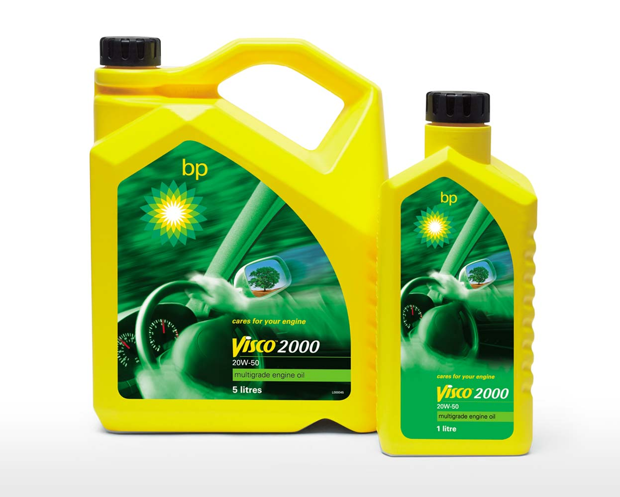 BP Packaging Visco 2000 Engine Oil Mela Creative