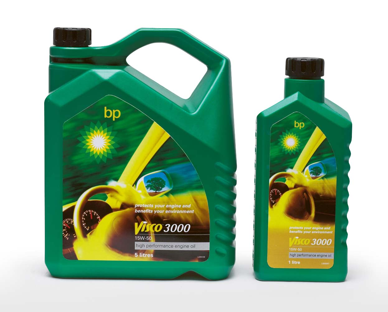 BP Packaging Visco 3000 Engine Oil Mela Creative