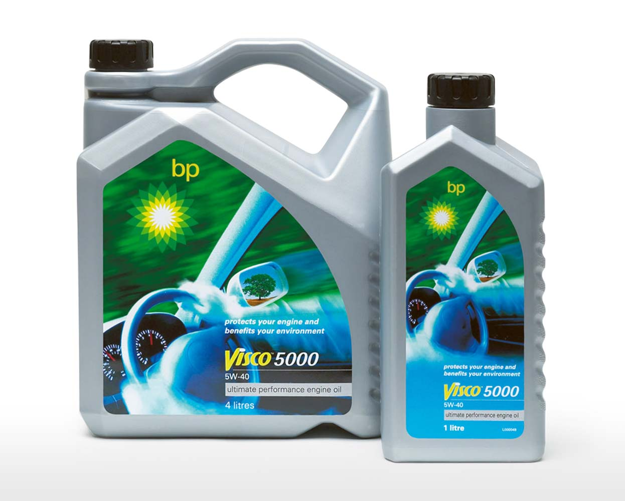BP Packaging Visco 5000 Engine Oil Mela Creative