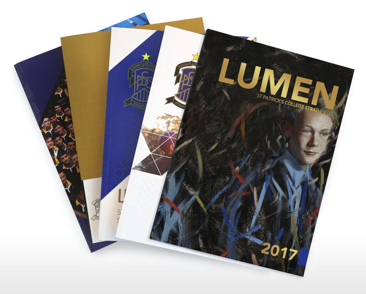 St Patricks College Lumen Branding Year Book 2017 Cover