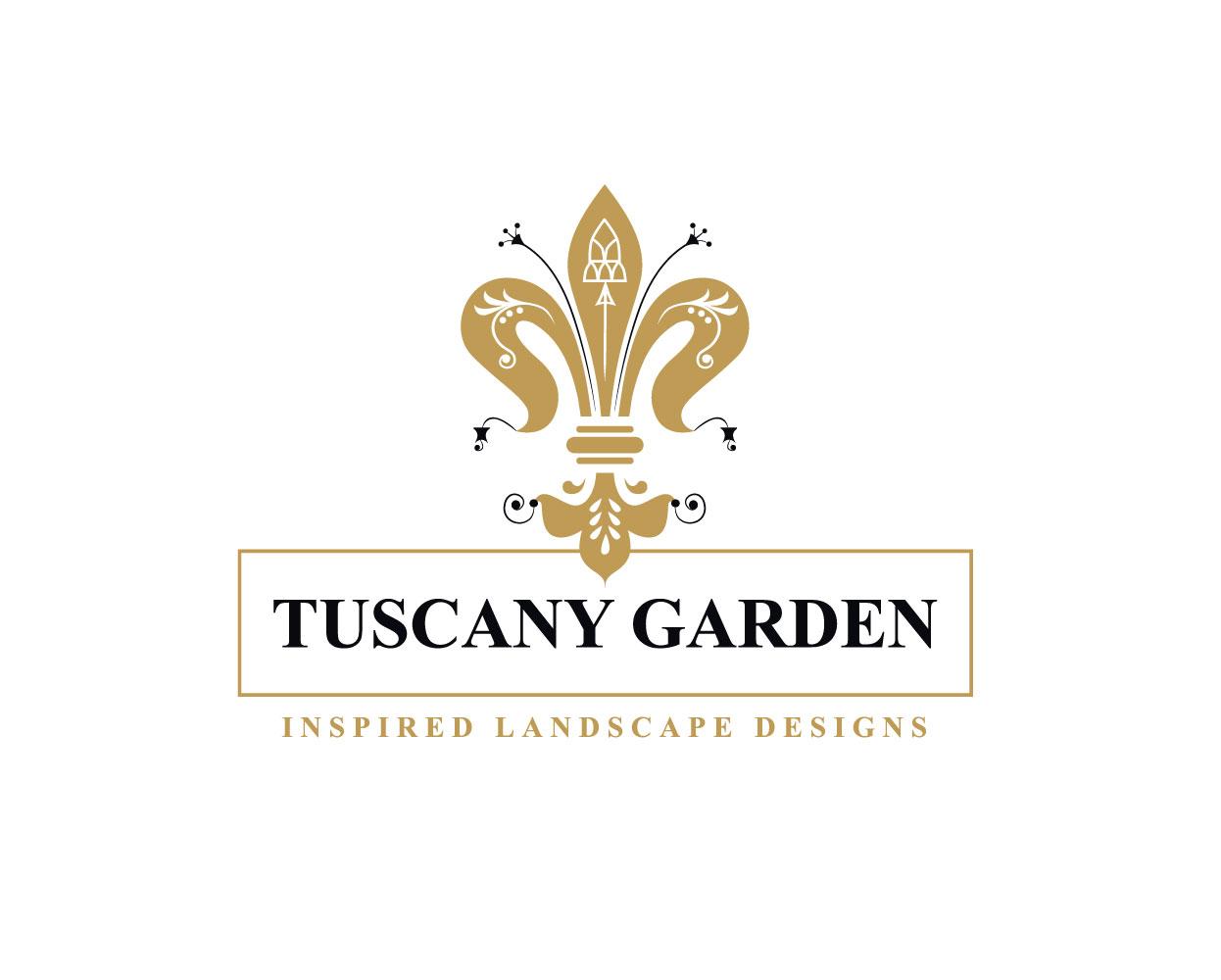 Tuscany Garden Branding Mela Creative Logo White