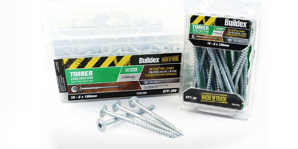 Mela Creative project - Buildex packaging