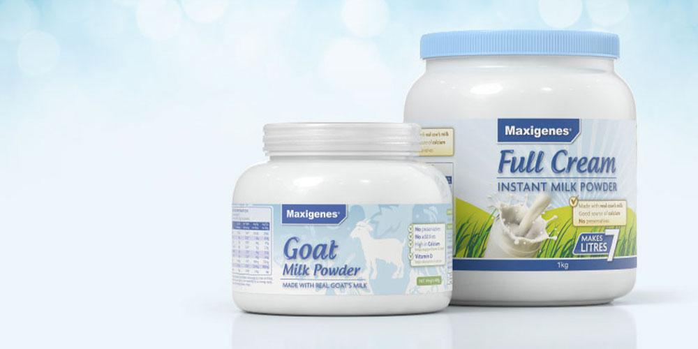 Mela creative prject - Maxigenes milk powder packaging
