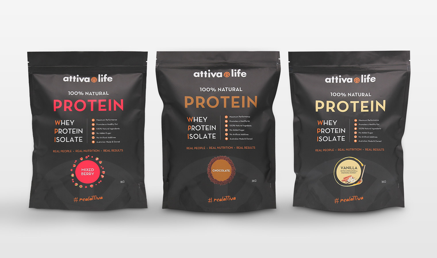 protein supplement pouch packaging